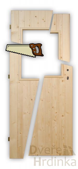 Úprava výšky dveří