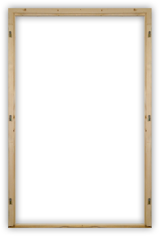 Rámové dvoukřídlé zárubně 110 - 150 cm s těsněním
