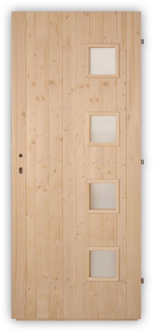 Palubkové dveře Quatro - panty