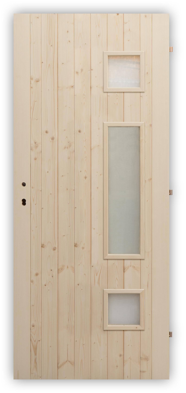 Palubkové dveře Trimax - panty