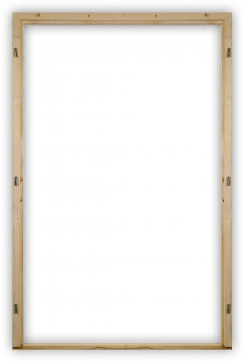 Smrkové dvoukřídlé zárubně 110 - 150 cm s těsněním