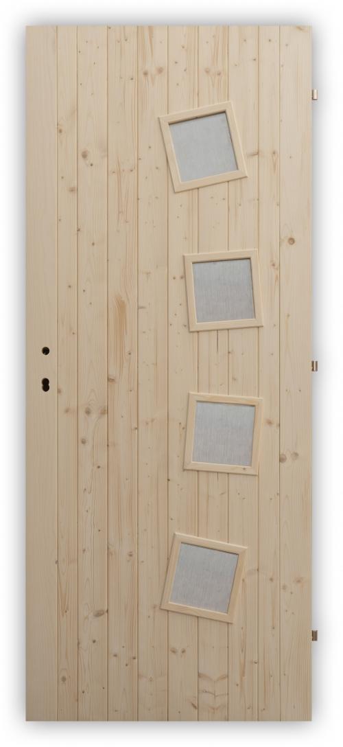 Palubkové dveře Shape - panty