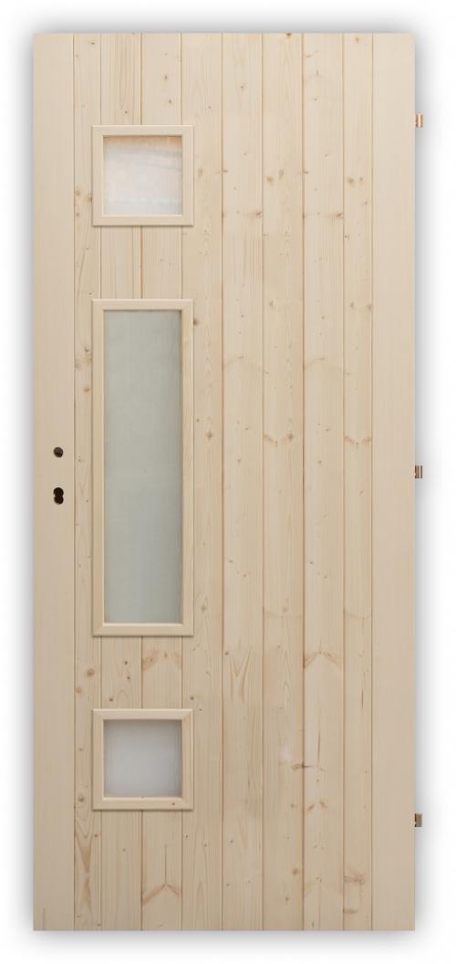 Palubkové dveře Trimax - zámek