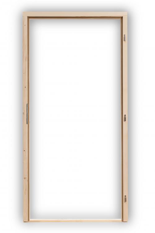 Rámové zárubně 60 - 90 cm s těsněním